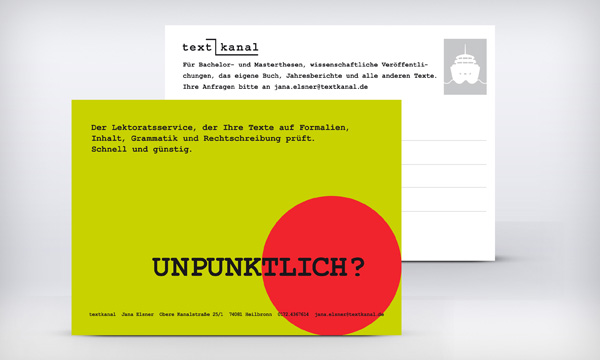 Textkanal Website