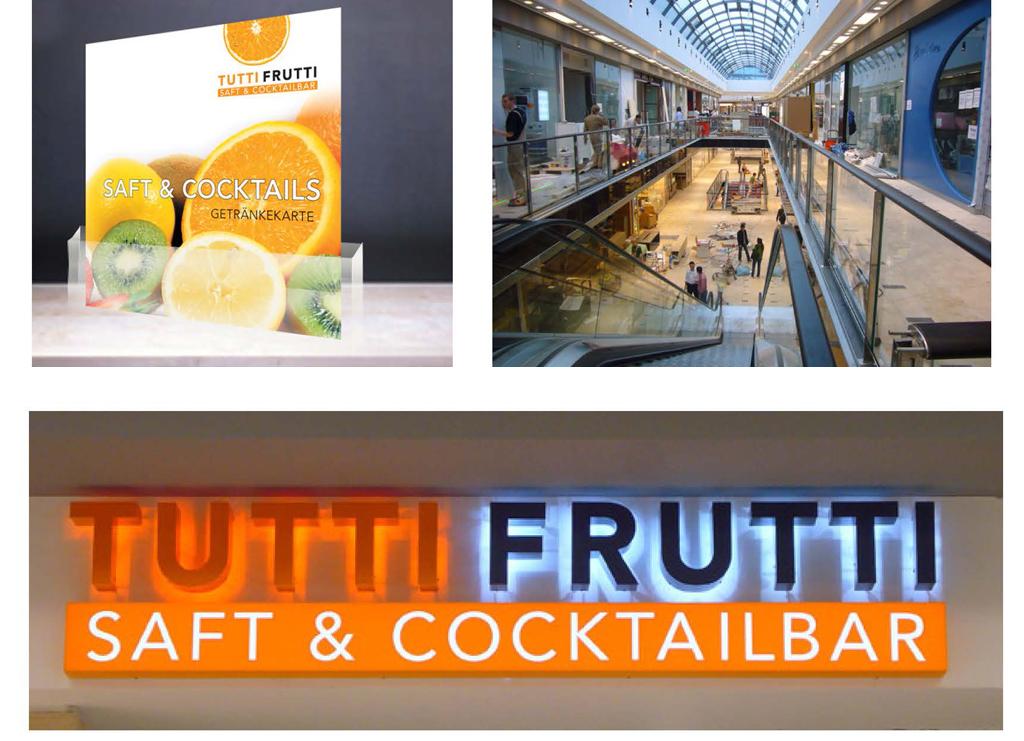 Tutti Frutti Ladendesign